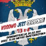 Demonstracja poparcia dla serbskiego Kosowa – 20.02.2011