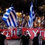 Hołd tysiąca greckich nacjonalistów dla obrońców Konstantynopola