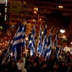 10 000 greckich nacjonalistów w hołdzie obrońcom Europy