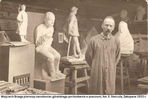 Brzega w_pracowni 1914 r
