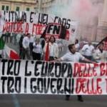 Forza Nuova za Europą Narodów – przeciwko Europie banków