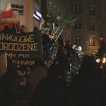 """Białystok: """"Krew, Honor, NOP!"""" – manifestacja na rzecz wolności"""