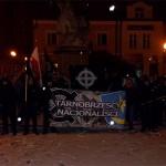 Manifestacja antykomunistyczna w Tarnobrzegu