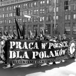 Praca w Polsce dla Polaków – nacjonalistyczny 1 maja w Warszawie