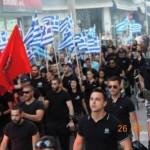 Dziesiątki tysięcy nacjonalistów na ulicach Aten