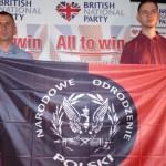Polscy nacjonaliści na konferencji Brytyjskiej Partii Narodowej w Blackpool (filmy)