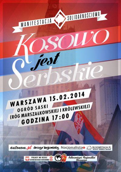 kosowo-jest-serbskie-2014-plakat