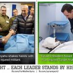 Syria: Lider opozycji dziękuje Izraelowi