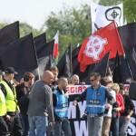 """Nacjonalistyczny 1 maja w Warszawie: """"Chcemy godnej pracy w Polsce"""""""