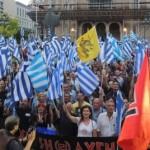 Tysiące narodowych rewolucjonistów w hołdzie greckim bohaterom