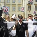 Kraków: Nie tęczowa, nie czerwona – tylko Polska Narodowa!