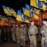 """15 000 nacjonalistów na marszu Pułku Azow. """"Idziemy na was!"""""""