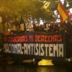 Marsz Pochodni 2014 – ponad 2000 nacjonalistów na ulicach stolicy Hiszpanii