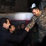 Prezydent Syrii spędził ostatni dzień 2014 roku z żołnierzami na froncie