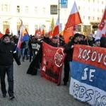 Ostrawa: Czescy, polscy i słowaccy nacjonaliści za serbskim Kosowem