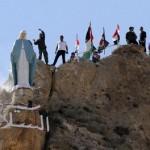 Syria: Żołnierze odsłonili nowy pomnik Matki Boskiej w Ma'alula