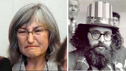 Roberta Achtenberg i Allen Ginsburg