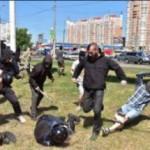 """Zakaz pedałowania po ukraińsku: Nacjonaliści zaatakowali """"Paradę Równości"""""""