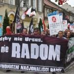 Radom: Niszcz komunizm i kapitalizm!