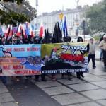 """Nacjonaliści w Częstochowie: """"Nie nasze wojny, nie nasi imigranci!"""""""