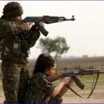 Syryjskie chrześcijanki w walce z islamistami