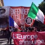 """""""Bronić Włoch, bronić Europy!"""" – 10 000 działaczy CasaPound na ulicach Rzymu"""
