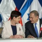 Hołd lenny rządu PiS i Beaty Szydło w Izraelu