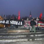 Nacjonaliści w Radomiu: Serbskie Kosowo, polski Śląsk!