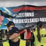 Nacjonaliści kontra Marsz Niewolników Brukseli