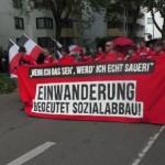 Niemieccy nacjonaliści: Stop imigracji, nigdy więcej Izraela!