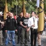 Defend Europe: Węgierscy nacjonaliści maszerowali w Budapeszcie