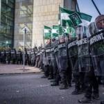"""""""Rewolta przeciwko zdrajcom"""" – manifestacja Nordyckiego Ruchu Oporu"""
